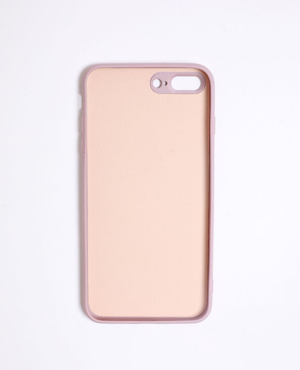 Coque compatible iPhone 7/8+ rose