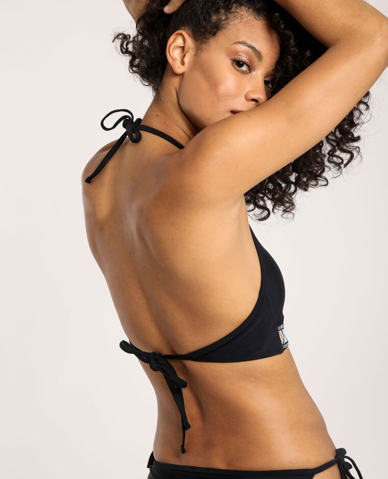 Haut de bikini brassière noir