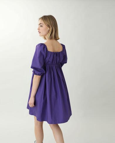A-lijnjurk violet