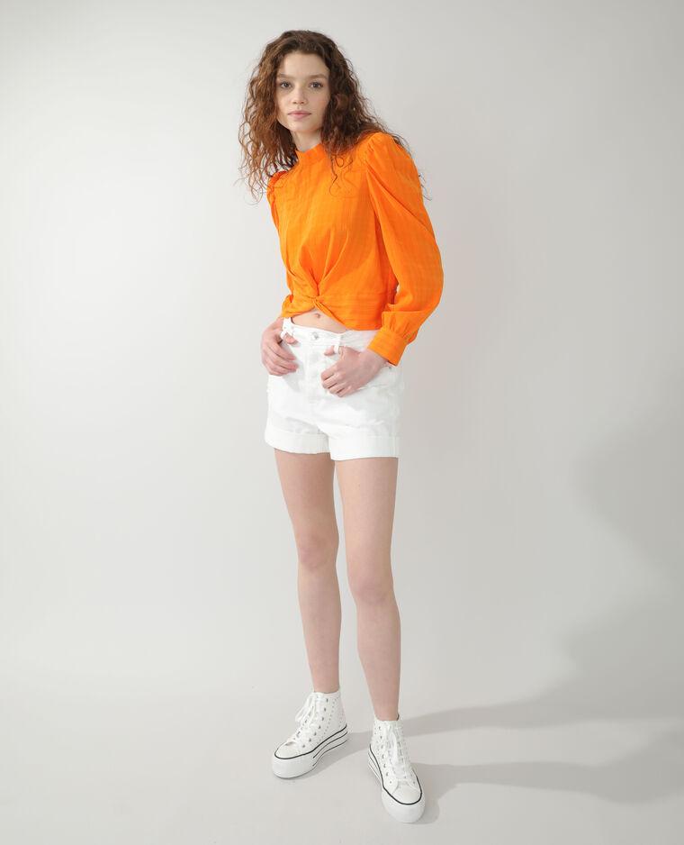 Short en jean écru - Pimkie