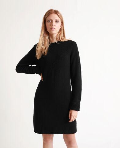 Robe pull noir