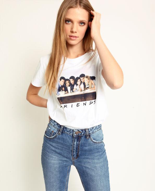 T-shirt FRIENDS blanc