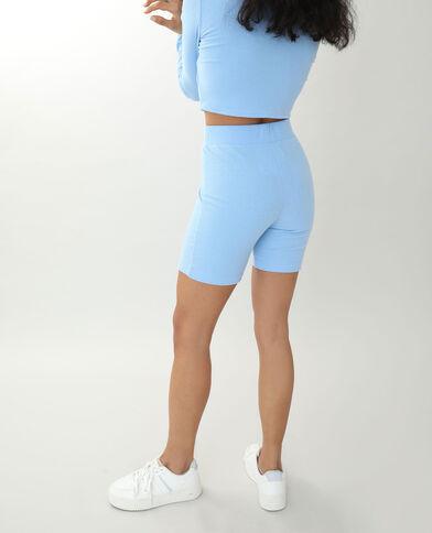 Ontzettend zachte short blauw