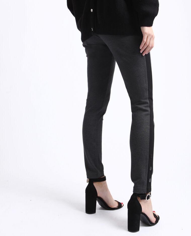 Legging taille haute gris