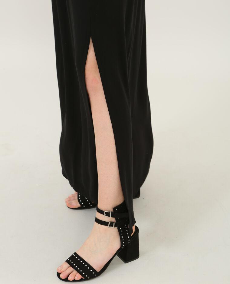 Verbazingwekkend Lange rok met split zwart - 690348899A08 | Pimkie LQ-96
