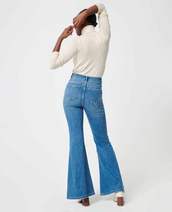 Flared jeans denimblauw - Pimkie