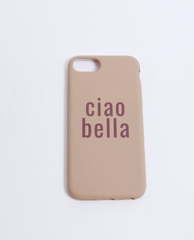 iPhone-hoesje Ciao Bella bruin