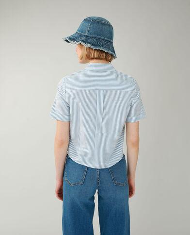 Gestreepte blouse grijs - Pimkie