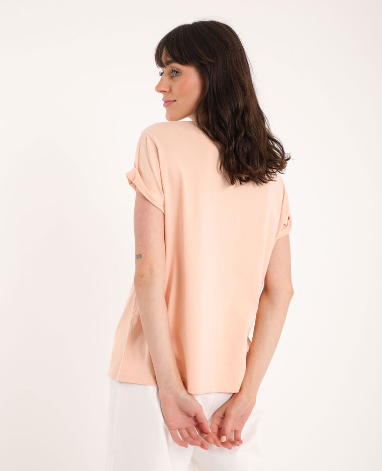 T-shirt graphique rose