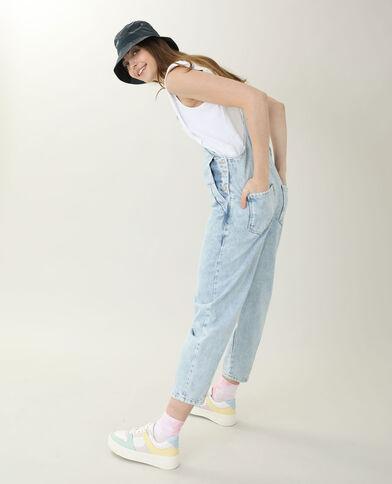 Tuinbroek van jeans Lichtblauw - Pimkie