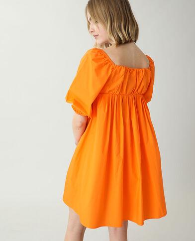 Robe trapèze orange - Pimkie