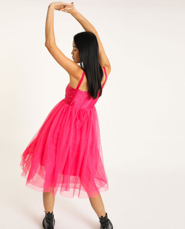 Robe tutu rose fuchsia