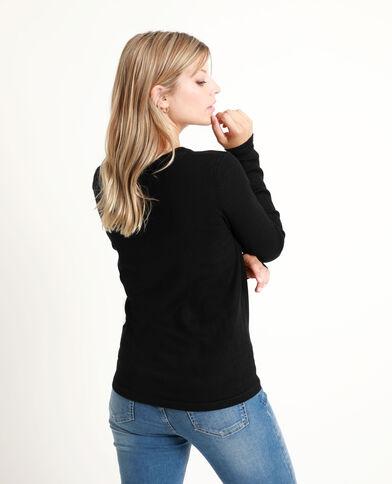 Basic trui zwart