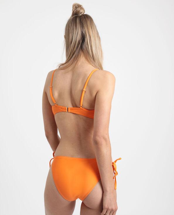 Bandeau-bikinitop Perzik