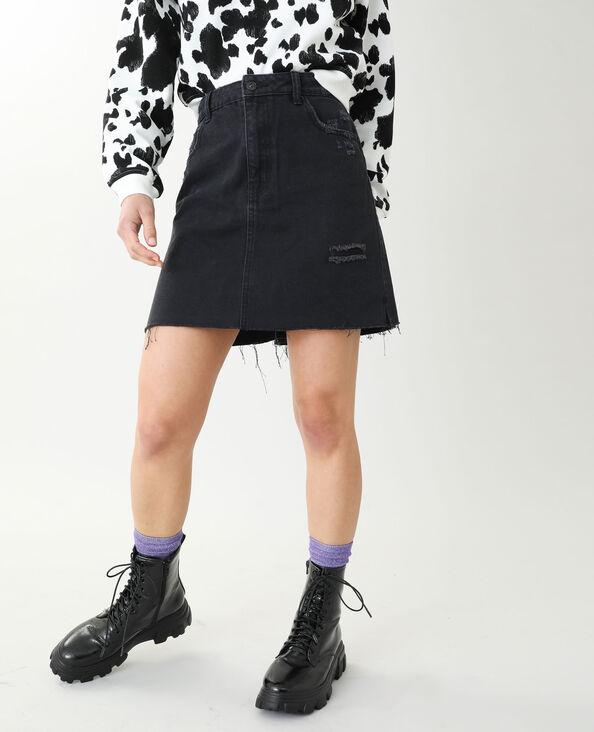 Jeansrok zwart - Pimkie