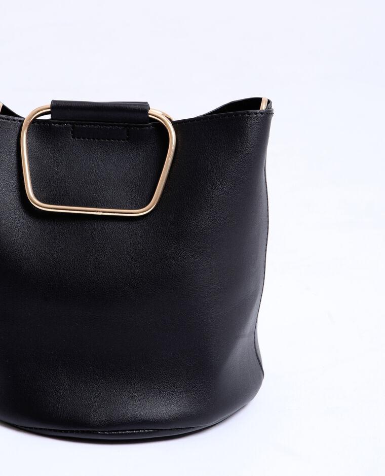 Bucket bag zwart