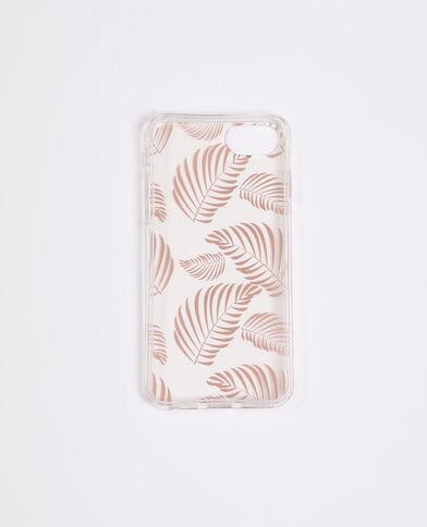 IPhone-hoesje met tropisch motief koperrood