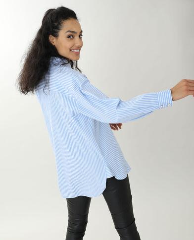 Lang hemd wit