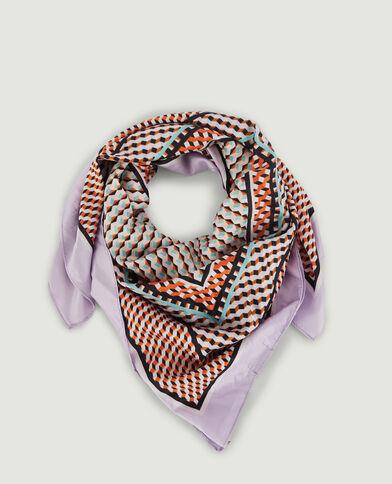 Sjaal met print violet - Pimkie
