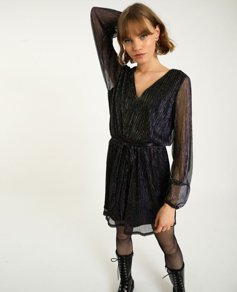 Robe lurex noir - Pimkie