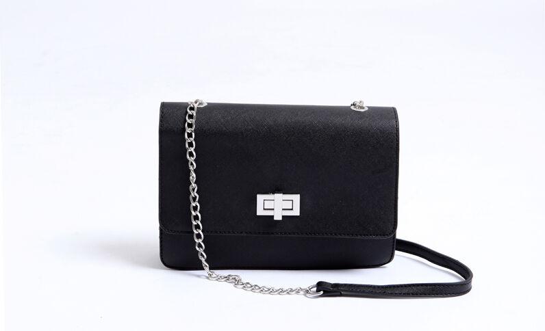 Petit sac boxy noir