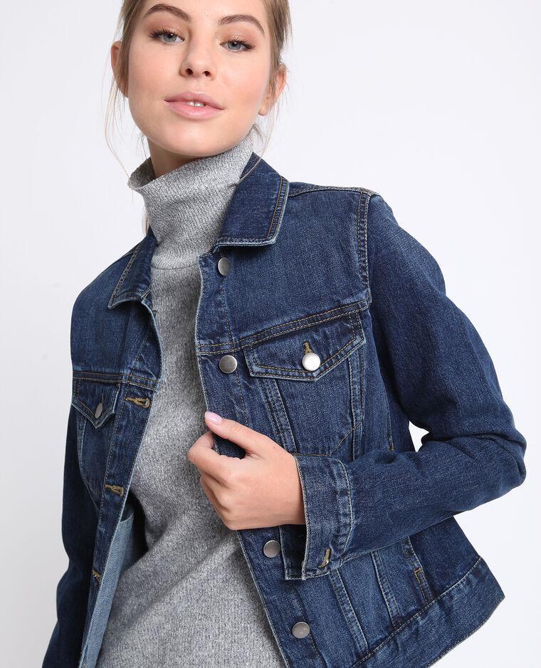 Jeansjasje donkerblauw