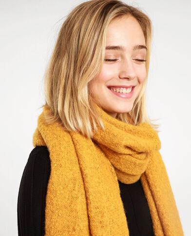 Zachte sjaal geel