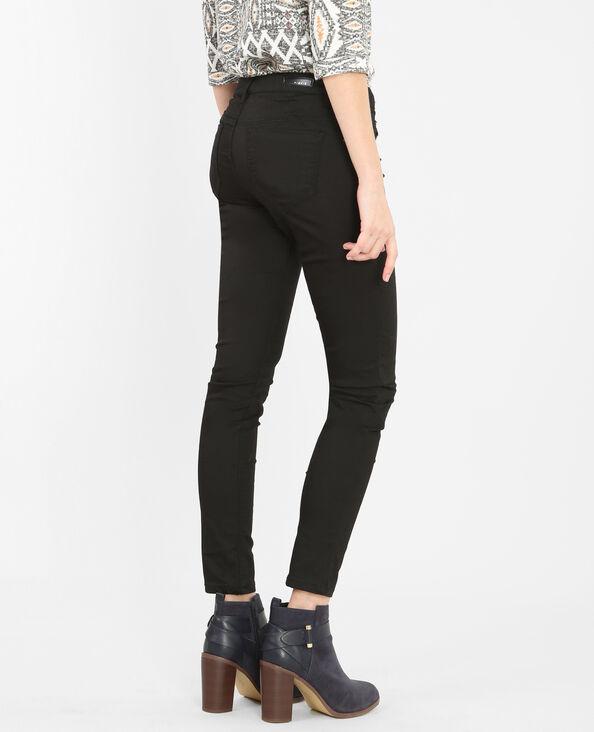7/8- skinny zwart