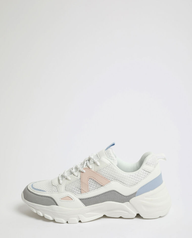 Baskets XL blanc