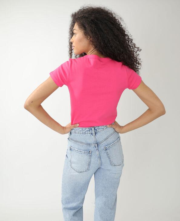 Basic T-shirt roze - Pimkie