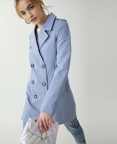 Trenchcoat blauw