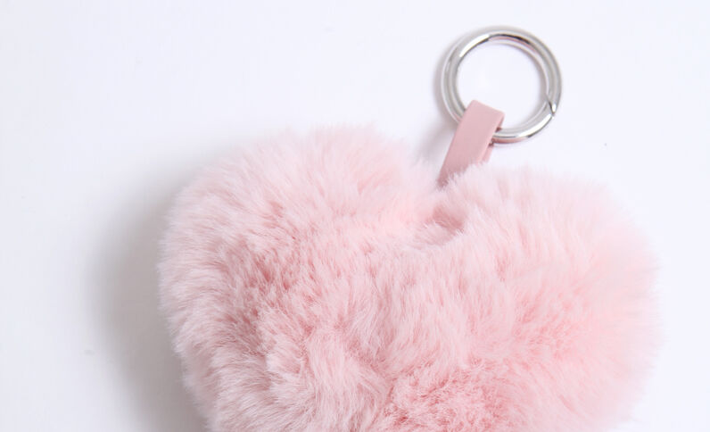 Porte-clés Paula Gonu corail