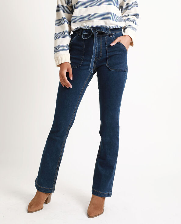 Bootcut jeans denimblauw