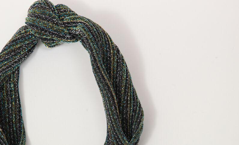 Headband glitter vert