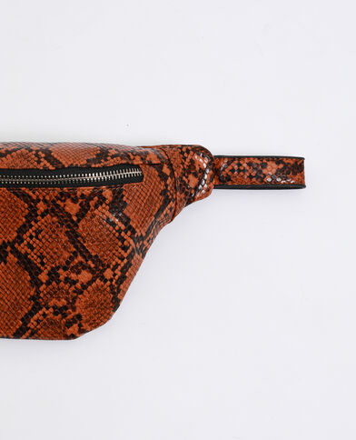 Sac banane python orange