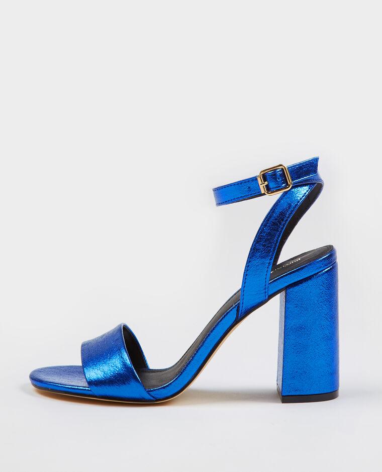 48d1ed01e48592 Sandales à talons bleu électrique - 904399618A0G | Pimkie