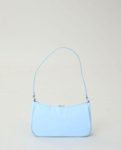 Nylon handtas zeeblauw