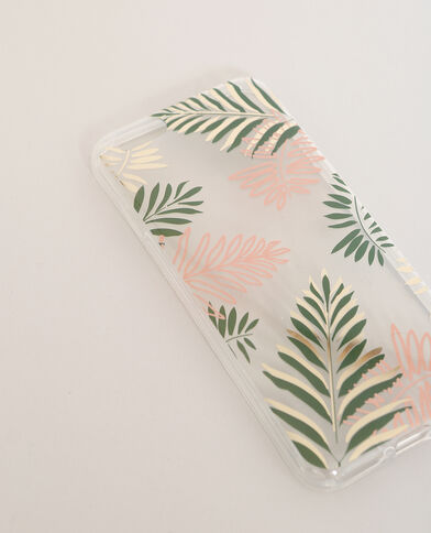 Coque compatible iPhone 6/6S vert