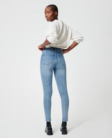 Jean skinny push up bleu brut - Pimkie