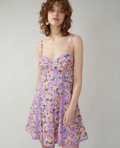 Robe fleurie violet - Pimkie