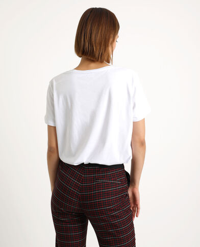 T-shirt INFLUENCER blanc