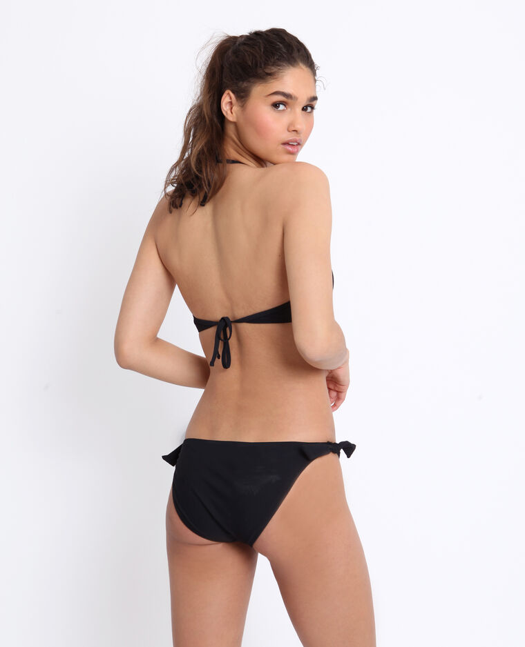 Haut de bikini push-up noir