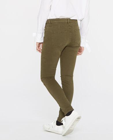 Skinny broek groen