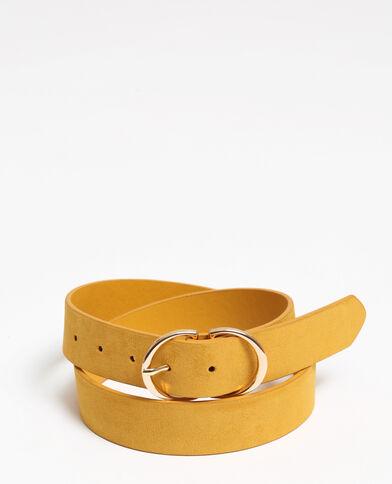 Gele riem Geel