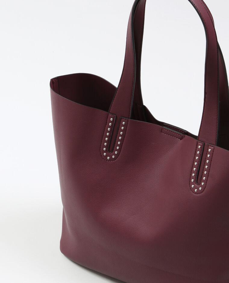 Grand sac souple Bordeaux
