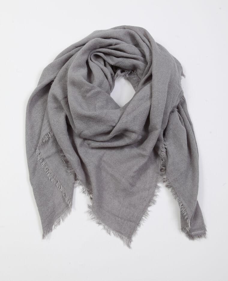 Foulard fin gris