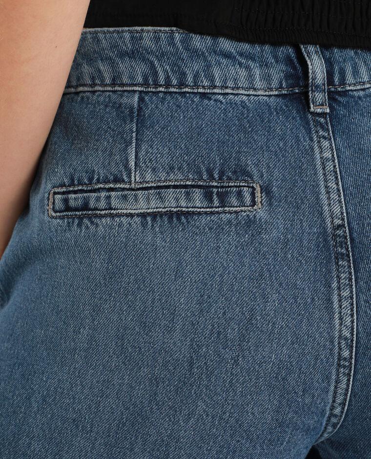 Jean battle mid waist bleu denim