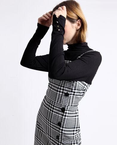 Robe vichy noir
