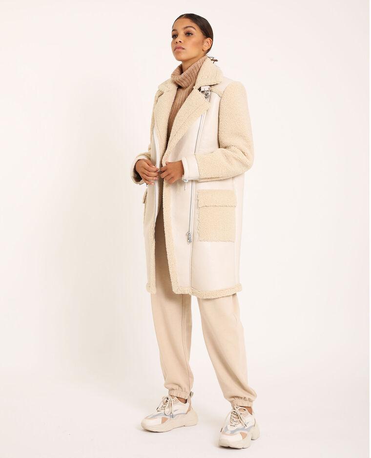 Pantalon molleton beige