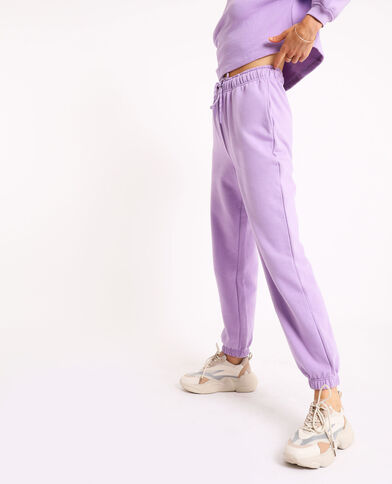 Jogging molleton lilas